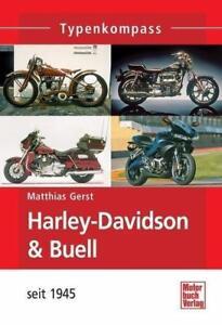 Harley-Davidson-amp-Buell-seit-1945-von-Matthias-Gerst-2011-Taschenbuch