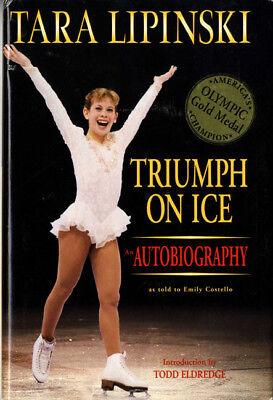 Tara Lipinski Autographed Signed Autobiography Title Page Aftal Uacc Rd Coa