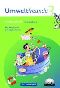 Umweltfreunde - Brandenburg - Ausgabe 2004 / 3. Schuljahr - Arbeitsheft mit Wegw