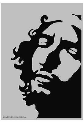 Bob Dylan POSTER - Hard Rain - LARGE  Psychedelic Artwork  **MUST SEE**