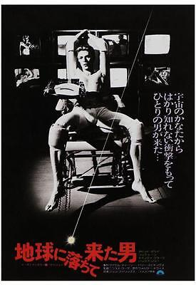 David Bowie POSTER Man Who Fell To Earth **AMAZING IMAGE** Japanese POSTER