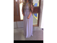 Grey Prom/Formal Dress - Size 8/10