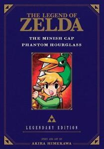 Himekawa-Akira-Legend-Of-Zelda-The-Minish-Cap-Phantom-Hourglass-Le-BOOK-NEU