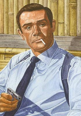 JAMES BOND SEAN CONNERY DR. NO ART PRINT
