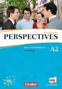 Perspectives - Ausgabe 2009: A2 - Kurs- und Arbeitsbuch mit Lösungsheft, 2 CD
