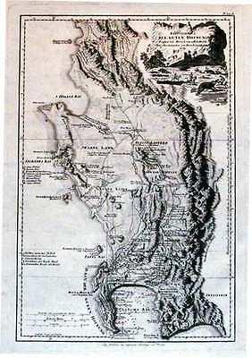 Antique map, Das Vorgebirg der Guten Hofnung