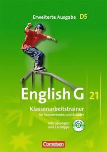 English G 21 - Erweiterte Ausgabe D / Band 5: 9. Schuljahr - Klassenarbeitstrai…