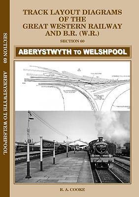 Aberystwyth Welshpool Track layout diagrams GWR BR no.60