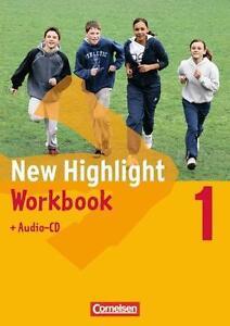 New Highlight 1. Workbook mit Einführungskurs und Audio-CD. 5. Kl. 2011 NEU