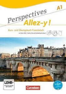 Perspectives - Allez-y! A1 Kurs- und Arbeitsbuch 9783065201766 978-3-06-520176-6