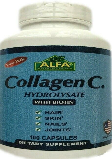 collagen c hydrolysate with biotin and vitamin