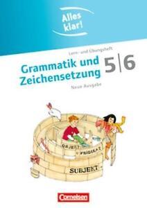 Cornelsen-Grammatik-und-Zeichensetzung-5-6-w-neu-Nachhilfe-Deutsch