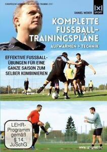 Komplette Fussball - Trainingspläne - Aufwärmen + Technik (2014)