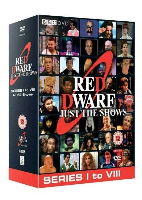 Red dwarf box set brand new series 1-8