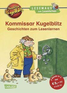 LESEMAUS zum Lesenlernen Sammelbände: Kommissar Kugelblitz Geschichten z ... /4