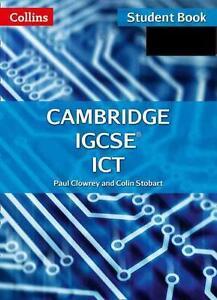 Cambridge IGCSE ICT Student Book and CD-ROM von Colin Stobart und Paul...
