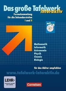 Das große Tafelwerk interaktiv. Allgemeine Ausgabe. von Matthias Fels