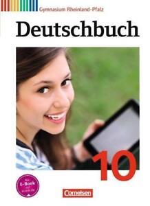 Deutschbuch Gymnasium 10. Schuljahr - Rheinland-Pfalz - Schülerbuch von Christop
