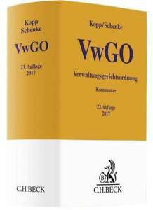 Kopp, Verwaltungsgerichtsordnung, 23. Auflage 2017