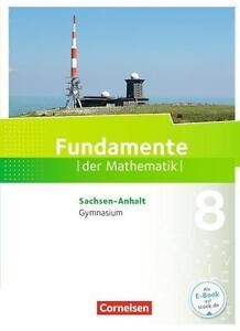 Fundamente der Mathematik 8. Schuljahr 9783060091973 978-3-06-009197-3