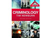 Criminology, Tim Newburn, Second edition