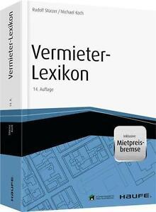 Vermieter-Lexikon Arbeitshilfen online Rudolf Stürzer 9783648065723 14. Aufl. 15