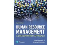 Human Resource Management by Julie Beardwell and Amanda Thompson Eight Edition