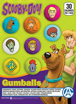 Bulk Gumball Candy Vending Machine - 225pcs 1 Scooby-doo Bubble Gum Balls