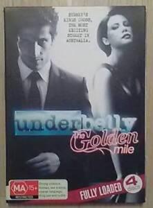 UNDERBELLY -The Golden Mile (4 DVD Disc Set) Glebe Inner Sydney Preview