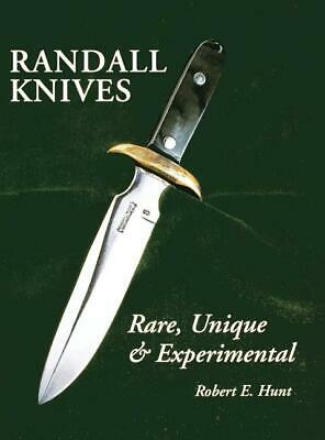 Randall Knives: Rare, Unique, & Experimental Book~knife~ Brand NEW Softcover!
