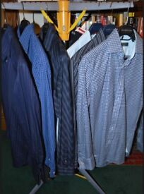 MENS SHIRTS. 6 IN TOTAL. IMMACULATE , some new , never worn