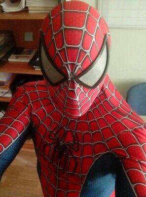 Raimi Spiderman Marvel Costume 3D Printing Halloween Cosplay Suit For Kids/Adult