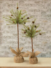 Country CYPRESS TOPIARY PINE ARTIFICIAL CHRISTMAS TREE ...