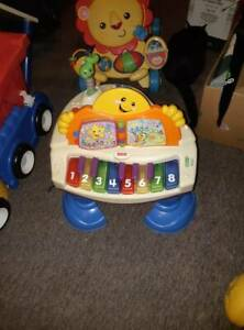 Sit and play piano