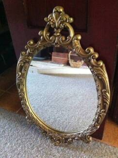Ornate Vintage Style Mirror Wybong Muswellbrook Area Preview
