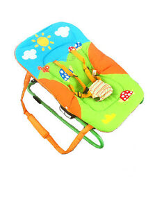 BRAND NEW BABYSTAR BABY BOUNCER ROCKER CARRY HANDLES LIGHT FREE POST RRP$79.95