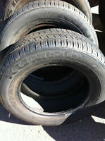 $40 - 14inch tires 2 like new , 2 have one summer usage