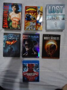 Various Blurays and DVDs and Digital Code for Sale