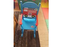 Kids Childrens Wooden Chair,Rocking Playing Chair