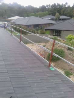 Roof safety rail fall protection Scaffold Bakery Hill Ballarat City Preview