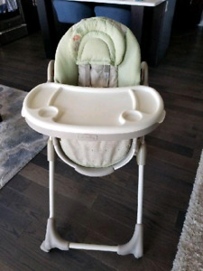 High Chair With Swing Out Tray