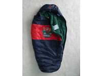 Mammut, high quality child's sleeping bag, adjustable length, very good condition.