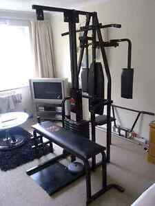 Exerciseur York 2001  bench dumbell