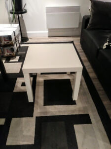 Table blanche Ikea