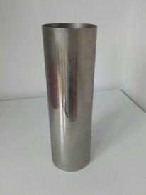 Vintage Habitat tall metal vase