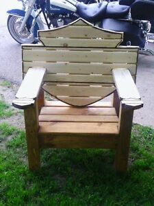 Custome Harley Benches & Chairs