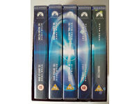 Star Trek Motion Pictures VHS Box Set - nine films