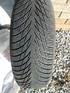 Used Winter Tires for Sale, Very Good Condition