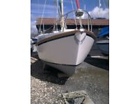 SEADRIFT 20/FT 4 BERTH MOTOR-SAILER WITH A SMACK OF CORNISH TRADITION BEHIND. HER