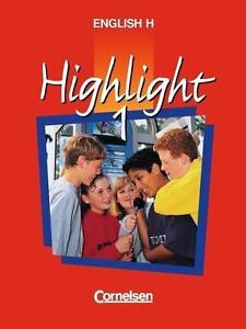 English H. Highlight 1 von Roderick Cox und Raymond Williams (1994, Taschenbuch) - Deutschland - English H. Highlight 1 von Roderick Cox und Raymond Williams (1994, Taschenbuch) - Deutschland